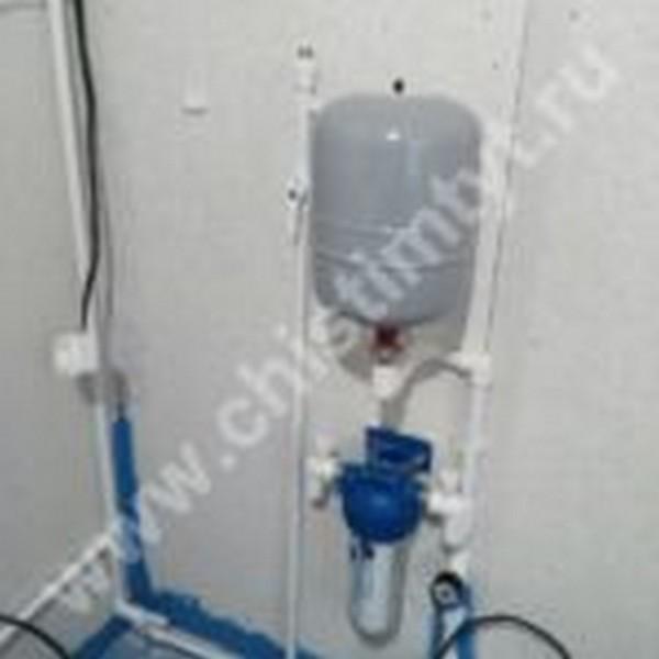 водоснабжение из колодца под ключ